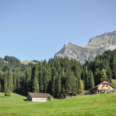 Unterlauelen Mountain Farm